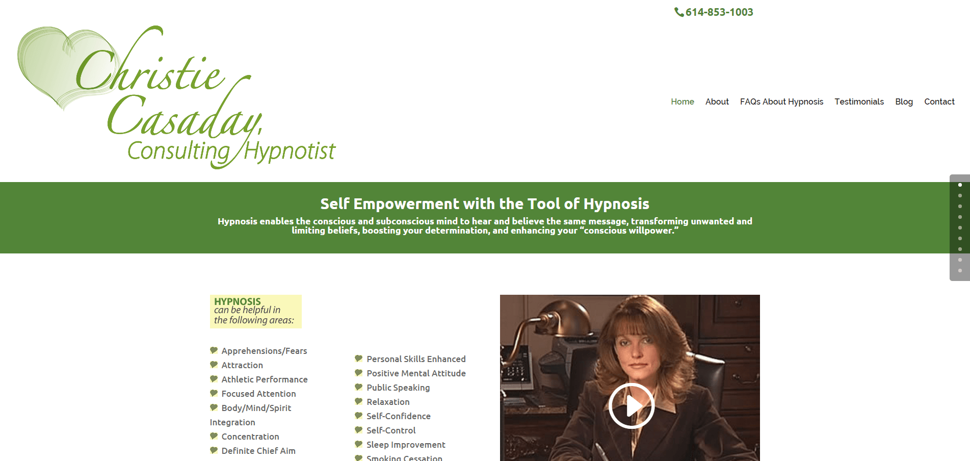 Christie Casaday Consulting Hypnotist