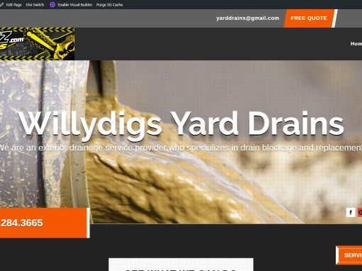 Willydigs Yard Drains